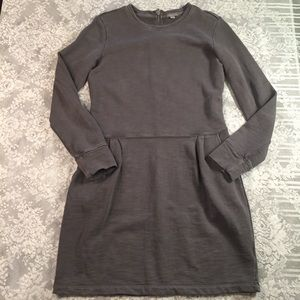 Gap grey sweatshirt dress